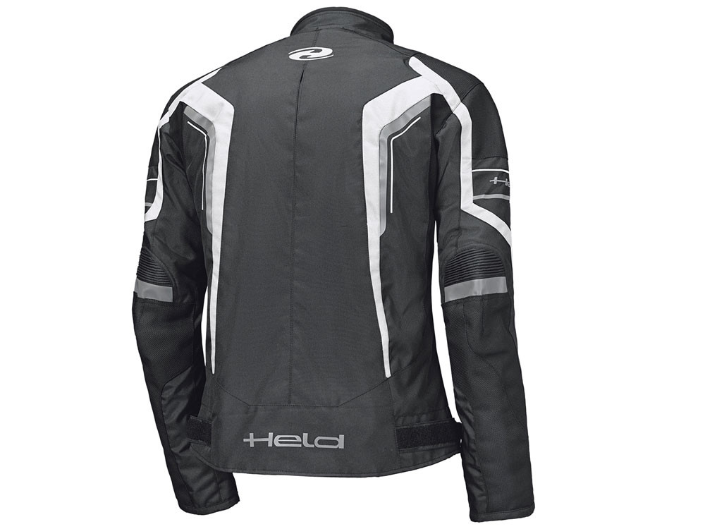 Held Smoke Motorcycle Jacket (black / white)