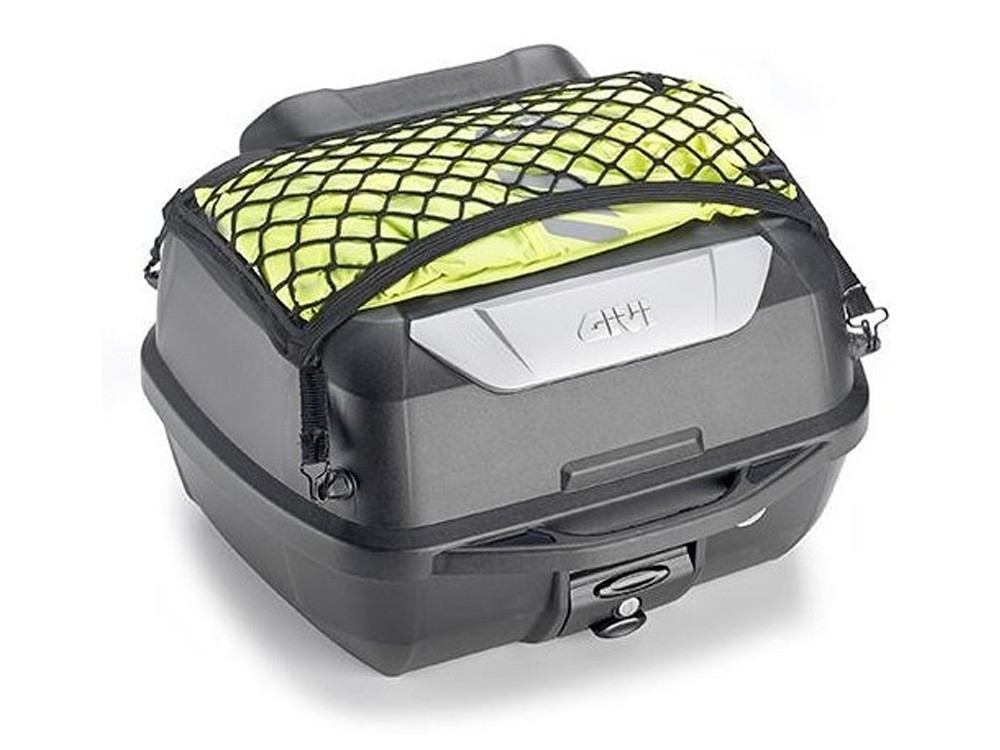 GIVI E43NMAL+ Monolock Top Case (black   incl. Universal Adapter Plate & Mounting Set)