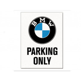 Nostalgic Arts BMW Parking Only Magnet (6x8cm)
