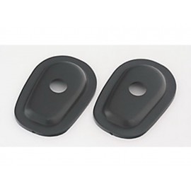 P&W Mounting Plates Set Indy Spacer ISY1 for Mini-Turn Signals Yamaha (black)