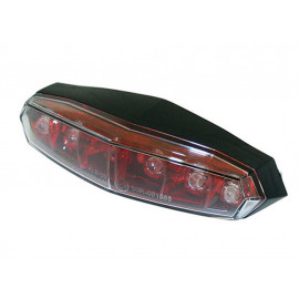 KOSO Mini LED Taillight (red) clear Glass