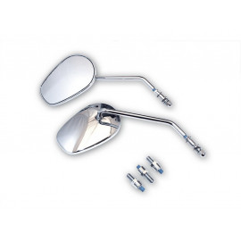 P&W Miroir ensemble HD-Style Metall (chrome)