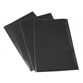 P&W Protection de réservoir Sheets (carbone)