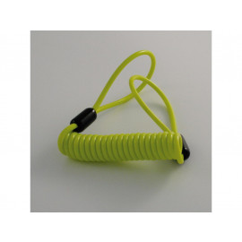 P&W Reminder Cable for Disc Locks (yellow)