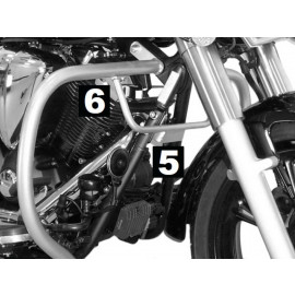 Hepco & Becker Barre de protection du moteur Yamaha XVS 950 A Midnight Star (chrome)