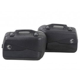 Hepco & Becker Valise latérale moto Set Junior Flash 30 (noir)