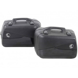 Hepco & Becker Valise latérale moto Set Junior Flash 40 (noir)