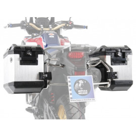 Hepco & Becker Xplorer Cutout Motorcycle Side Pannier Set with Rack Honda CRF 1000 Africa Twin (2016-)