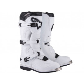 Alpinestars Tech 1 Cross Motorcycle Boots (white)