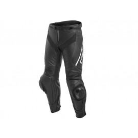Dainese Delta 3 Long Motorcycle Pants (black / white)