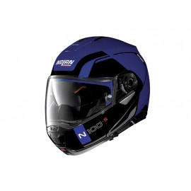 Nolan N100-5 Consistency N-COM Flip-Up Helmet (blue / black)