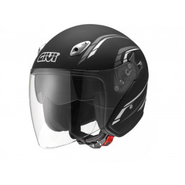 GIVI 20.6 J2 Plus Jet Helmet (black matt)