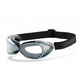 Helly Lunettes de moto Hunter (chrome)