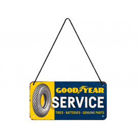 Nostalgic Arts Goodyear Service Hanging Sign (10x20cm)