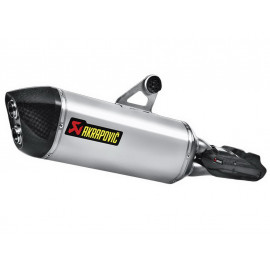 Akrapovic Slip-On Silencieux BMW R1200GS / R1200GS Adventure (2013) Titane