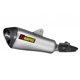 Akrapovic Slip-On Silencieux BMW R1200R (2015) Titane