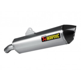 Akrapovic Slip-On Silencieux BMW F800GT / F800R (2013) Titane